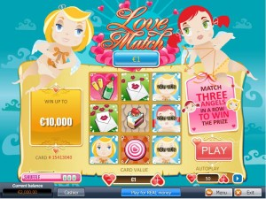 Jackpot Scratch Love Match Card